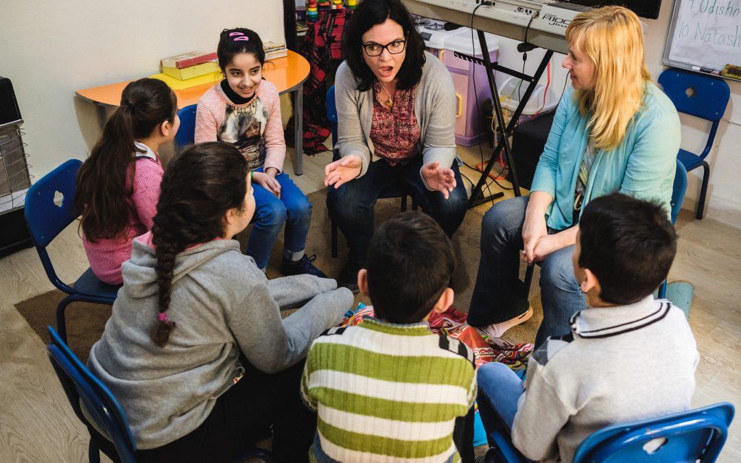 Latvijas mūzikas terapeites Jordānijā