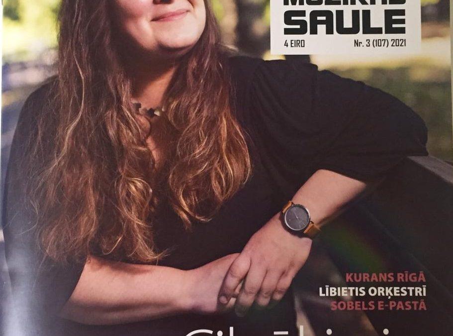 """Žurnālā """"MŪZIKAS SAULE"""" Nr.3 (107) 2021 ir Latvijas mūzikas terapijas asociācijas valdes locekles, sertificētas mūzikas terapeites Ingas Bērziņas sagatavotais raksts par Latvijas mūzikas terapijas pamatlicēju mūzikas terapeiti MIRDZU PAIPARI ar nosaukumu """"MUZIKĀLĀS DZĪVES PANORĀMA"""""""